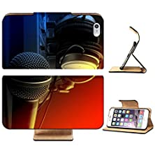 buy Liili Premium Apple Iphone 6 Plus Iphone 6S Plus Flip Case Microphone With Mixer And Headphones Music Studio Set Photo 5014252 Simple Snap Carrying
