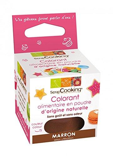 SCRAPCOOKING - Colorant alimentaire naturel marron