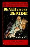 Death Before Bedtime V53 (039474053X) by Box, Edgar