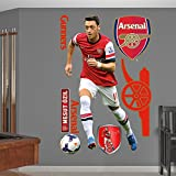 English Premiership Arsenal Mesut Ozil Fathead Wall Decal, Real Big