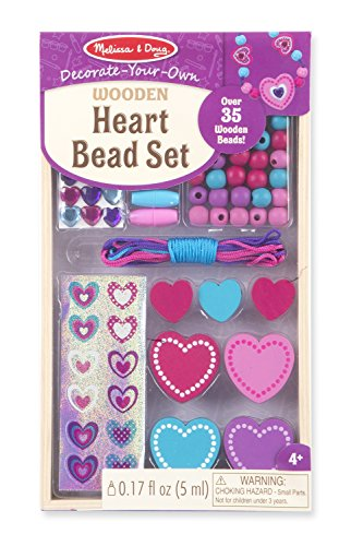 Melissa & Doug Heart Bead Set - 1
