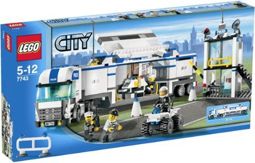 LEGO City 7743 Police Truck