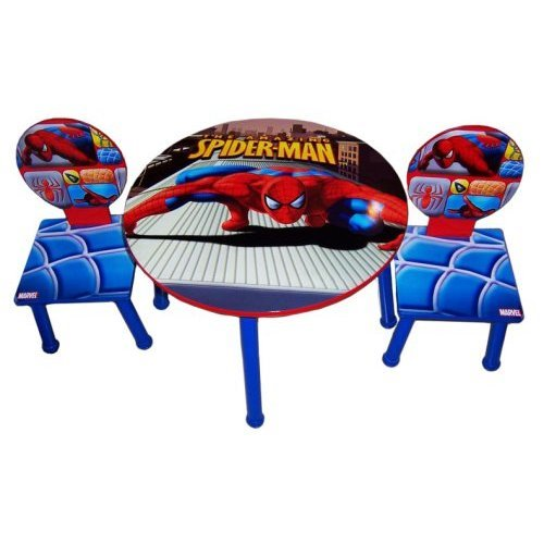 Marvel The Amazing Spider-man Table and 2 Chairs furniture Set