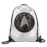 NEVA Star Trek Logo Gym Drawstring Bags/Backpack Bags