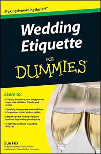 Wedding Etiquette For Dummies