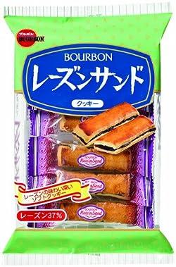 ブルボン レーズンサンド 11本×10袋