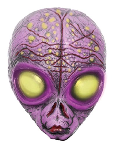 Purple Shadow Alien Scary Sci-Fi Halloween Costume Mask
