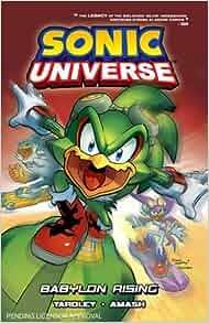 Sonic Universe 9: Babylon Rising: Sonic Scribes: 9781619889613: Amazon