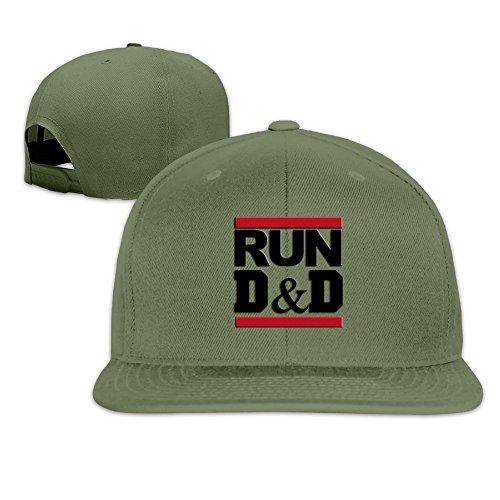 run-dungeons-dragons-baseball-cap-flat-along-the-hip-hop-hats-forestgreen-ovo-caps