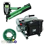 Hitachi 725291 Clipped Head Framing Nailer Compressor Combo Kit