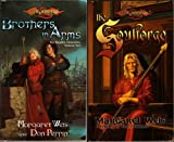 img - for The Soulforge; Brothers in Arms (Dragonlance: Raistlin Chronicles) book / textbook / text book
