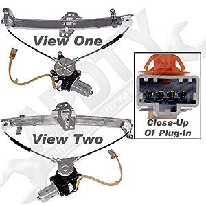 Apdty 862273 power window regulator with motor for 2001 acura tl window regulator