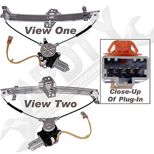 APDTY 862273 Power Window Regulator With Motor(Fits 2001-2002 Acura CL)Front Left/Driver Side,Direct Replacement for Proper Fit Every Time,Replaces Factory OEM Part Number(s)- 72210S3MA01, 72250S3MA03 (Acura Cl Window Regulator compare prices)