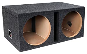 Bbox Pro SeriesDual 12-Inch Shared Vent Subwoofer Enclosure (Charcoal)