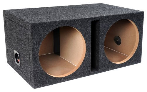Bbox Pro Series Dual 10-Inch Shared Vent Subwoofer Enclosure (Charcoal)