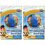 Jake and the Never Land Pirates Beach Ball [2-Pack]