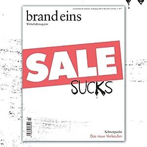 brand eins audio: Das neue Verkaufen Audiomagazin
