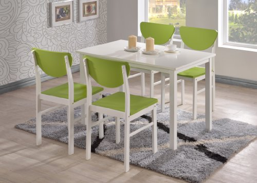 White Wood Chair front-1076315