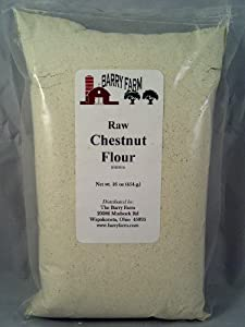 Chestnut Flour, Raw, 1 lb. by Barry Farm