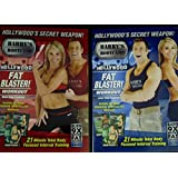 Hollywood's Secret Weapon! SET of Barry's Bootcamp DVD's Upper Body Emphasis and Lower Body Emphasis