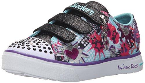 skechers-twinkle-breeze-pop-tastic-sneakers-basses-fille-turquoise-29-eu