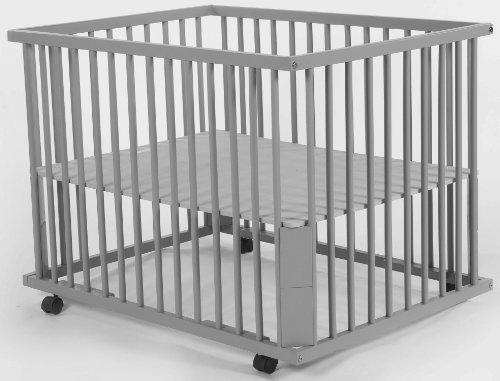 quax 16021018 parc aline roulettes gris mon avis sur ce produit et o le trouver moins. Black Bedroom Furniture Sets. Home Design Ideas