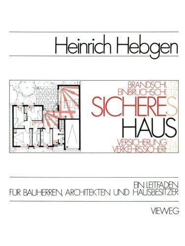 Sicheres Haus  [Hebgen, Heinrich] (Tapa Blanda)