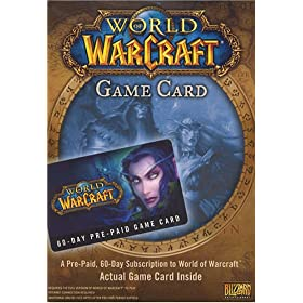 World of Warcraft 60 Day Pre-Paid Time Card