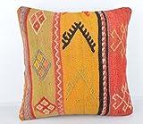 Wool Pillow, KP1035, Kilim Pillow, Decorative Pillows, Designer Pillows, Bohemian Decor, Bohemian Pillow, Accent Pillows, Throw Pillows