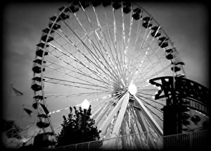 Navy Pier Chicago Black and White Print CHBW3970 5x7