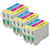 3 Compatible C/M/Y Colour Sets of Printer Ink Cartridges to replace T1292, T1293, T1294 (9 Inks) - Cyan / Magenta / Yellow for use in Epson Stylus Office B42WD, BX305F, BX305FW, BX320FW, BX525WD, BX535WD, BX625FWD, BX630FW, BX635FWD, BX925FWD, BX935FWD,
