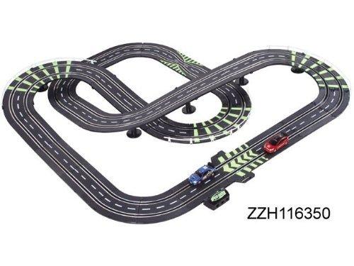 Amg Life Like Formula 1 Cars Spin Slot Car Track Set - Racing Showdown 25Ft Of Track + 120Pcs