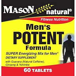 Mason Vitamins Men's Potent Tablets, 60-Count Bottle