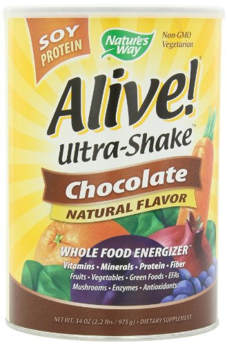 Nature'S Way Alive Soy Shake, Chocolate, 2.2 Pound