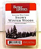 Better Homes and Gardens Scented Wax Cubes Snowy Winter Woods Tarts Candle Melts