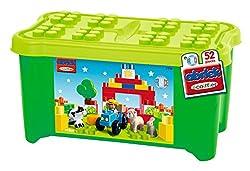 Ecoiffier Maxi Abrick Farmer'S Toy Chest, Multi Color