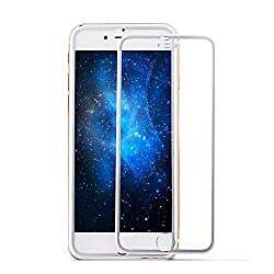 ivolks iPhone 6S Screen Protector, iPhone 6 Glass Screen Protector - [Tempered Glass] Ultra-clear Glass Screen Protector Perfect Fit For 4.7 Inch iPhone 6 / 6S Screen Guard (Silver)