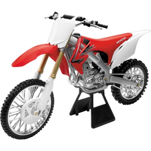 New Ray Honda CRF450F 2010 Replica Motorcycle Toy - 1:6 Scale