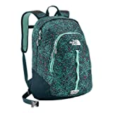 The North Face Women's Vault Kodiak Blue Geo Snowflake Backpack Bookbag