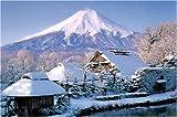 1000ピース 雪の忍野富士 RS-13-217