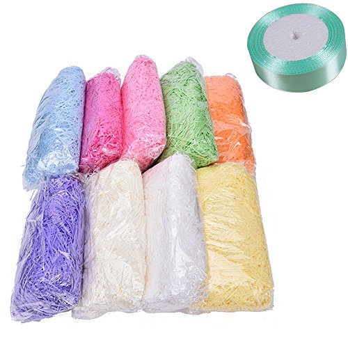 1-pack-yellow-shredded-tissue-paper-gift-bags-box-hamper-baker-filler-package-wrap-with-1-ribbon-rol