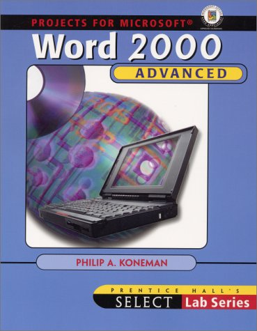 SELECT: Advanced Word 2000 (2nd Edition)