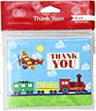"""Creative Converting 8 Count """"On The Go"""" Thank You Cards"""