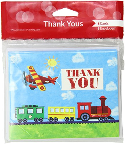 "Creative Converting 8 Count ""On The Go"" Thank You Cards"