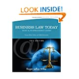 Business Law Today, Standard: Text and Summarized Cases