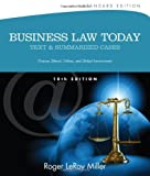 9781133273561: Business Law Today, Standard: Text and Summarized Cases