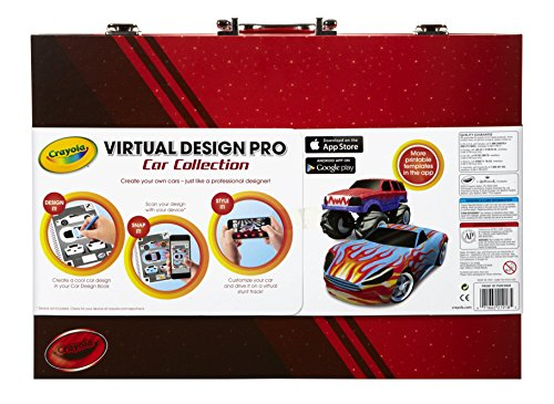 Crayola Virtual Design Pro-Cars Set JungleDealsBlog.com