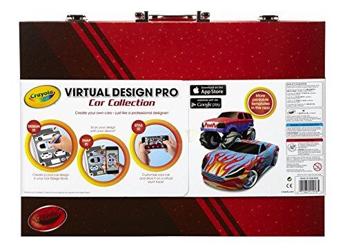 Crayola Virtual Design Pro-Cars Set JungleDealsBlog.com