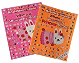 MoshiMoshiKawaii Moshi Monsters Activity Books: 2 books (Where is Strawberry Princess Moshi? ? Where is Strawberry Moshi?)