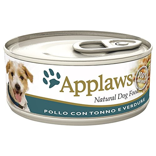 APPLAWS DOG In lattina con pollo tonno e verdure umido cane gr. 156
